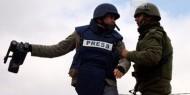 مدى: 41 اعتداء ضد الحريات الاعلامية في فلسطين  خلال مايو الماضي