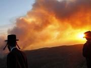 اندلاع حرائق في غلاف غزة بفعل البالونات الحارقة