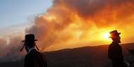 """الاحتلال يخلي """"كيبوتسًا"""" قرب """"تل أبيب"""" بسبب حريق"""