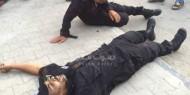 صور: وفاة شرطي برفح في حادث سير اثناء توجه قوة لفض شجار عائلي