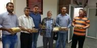 بالصور.. حركة فتح تقدم هدايا العيد للمرضى والأطفال الأيتام في رفح