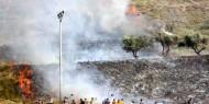 محاولات إسرائيلية للسيطرة على حريق في غوش عتصيون