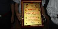 """بالصور.. نيابة عن القائد دحلان: """"فتح غزة"""" تكرم طلبة الثانوية العامة في القطاع"""
