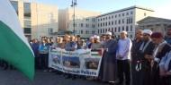 بالصور ..الجالية الفلسطينية وإصلاحي فتح يتظاهران في برلين نصرة للأقصى