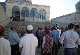 """القدس: (17) مستوطناً يقتحمون """"الأقصى"""" بحراسةٍ مشددة"""
