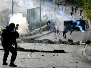 اندلاع مواجهات بين عشرات الشبان وقوات الاحتلال في قلقيلية