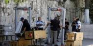 """بالفيديو.. إسرائيل تزيل البوابات الإلكترونية في باب """"الأسباط"""" بعد الافراج عن طواقم سفارتها بعمان"""