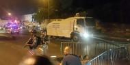 بالفيديو.. قوات الاحتلال تعتدي على مرابطي الأقصى في باب الأسباط