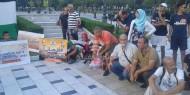 بالصور.. وقفة احتجاجية لإصلاحي فتح والجالية الفلسطينية بقبرص رفضاً لحصار الأقصى