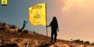 """صورة الجناح العسكري لـ""""فتح"""" يُطلق شعاراً لمشاركته في التصدي للعدوان الإسرائيلي"""