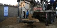 البدء بتنفيذ مشروع بئر مياه مع محطة تحلية في رفح