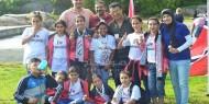 بالصور.. القائد دحلان يكرم الفرق الرياضية المشاركة في تصفيات كرة القدم بالنرويج
