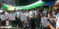 المحررون المقطوعة رواتبهم: أمن عباس منعنا من اقامة خيمة اعتصام وسنبدأ بالاضراب عن الماء الإثنين