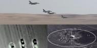بالفيديو.. الطيران المصري يدمر 9 سيارات محملة بالأسلحة على الحدود الغربية