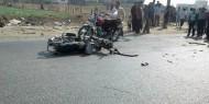 مصرع مسن دهسته دراجة نارية في خانيونس