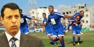 منحة مالية من القائد دحلان لدعم الرياضة في قطاع غزة