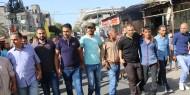 خاص بالصور.. في مشهد مهيب: حركة فتح تستقبل المعتقلين المفرج عنهم من سجون غزة