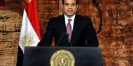 الرئيس السيسي: ندعم حقوق الشعب الفلسطيني في إقامة دولته وعاصمتها القدس الشرقية