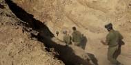 الاحتلال يعلن اكتشاف نفق على حدود غزة