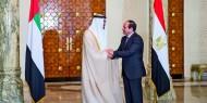 بالصور.. الرئيس السيسي يستقبل سمو الشيخ محمد بن زايد