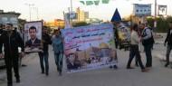 بالصور.. مجلس شباب «إصلاحي فتح» ينظم مسيراً كشفياً بمخيم المغازي رفضاً لقرار ترامب