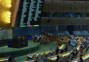 بشكل مفاجئ..13 دولة تصوت ضد مشروع قرار أممي يدعم الفلسطينيين