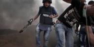 بالفيديو.. قوات الاحتلال تستهدف طاقم قناة «الغد» أمام سجن عوفر