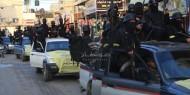 بالصور: كتائب شهداء الأقصى تقدم التهاني للأسرى المحررين في موكب مهيب بغزة