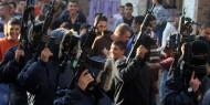 مسيرة لمقاومين واشتباك مسلح على حاجز الجلمة