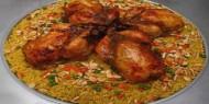 اسهل طريقة عمل دجاج محشي بالأرز
