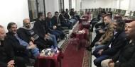 """بالصور.. """"إصلاحي فتح"""" بمصر يقيم بيت عزاء لفقيد فلسطين كمال حلس"""