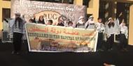"""بالصور.. """"تيار الإصلاح"""" يشارك بيوم الجاليات في الجامعة الأمريكية بالقاهرة"""