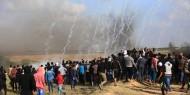 """إصابات خلال فعاليات """"جمعة الأرض مش للبيع"""" شرق قطاع غزة"""