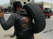 وعودات بإدخال إطارات السيارات'الكاوشوك' الى قطاع غزة خلال أيام