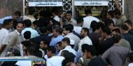 بالصور: إغلاق بنكي فلسطين والإسلامي بغزة بسبب رواتب موظفي السلطة