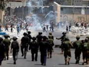 """عشرات الإصابات اختناقاً بالغاز خلال اقتحام قوات الاحتلال """"رام الله"""""""