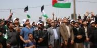 """بالصور والفيديو.. """"فتح رفح"""" تشارك في فعاليات الجمعة الثالثة لمسيرة العودة الكبرى"""