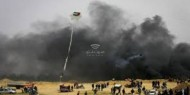 لاول مرة ..الاحتلال الاسرائيلي يستهدف مجموعة من مطلقي الطائرات الورقية بصاروخ استطلاع