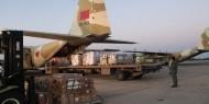 قافلة مساعدات طبية تصل المستشفى الميداني الأردني بقطاع غزة