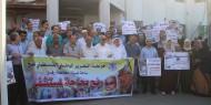 بالصور.. حركة فتح تنظم وقفة احتجاجية للمطالبة ببناء مستشفى متكامل بمحافظة رفح