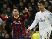 رونالدو: ميسي جعلني أفضل.. وفوزه بالبطولات يستفزني