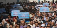 """اتحاد الموظفين"""" للأونروا""""يهدد باعتصام مفتوح الأسبوع القادم داخل المقر الرئيسي بغزة"""