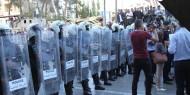 أمن عباس يعترض مسيرة رافضة للعقوبات على غزة ونصرة للأسرى المقطوعة رواتبهم