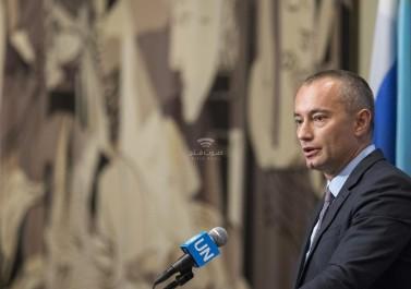 ميلادينوف يطالب الاحتلال بوقف الاستيطان ويحذر من مستقبل مظلم بالمنطقة