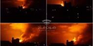 الطيران المروحي الإسرائيلي يقصف عدة مواقع أمنية في قطاع غزة