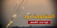 قصف إسرائيلي لمواقع عسكرية فلسطينية وسط وشمال القطاع