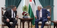 عباس يستقبل وفدا من جهاز المخابرات المصرية