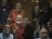 """مصر: المحكمة تؤيد حكم المؤبد ضد """"مرشد الإخوان"""" ونائبه و9 آخرين"""