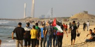 """استشهاد شاب من """"ألوية الناصر"""" جراء اعتداءات الاحتلال على المسير البحري"""