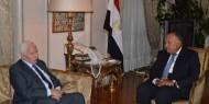بالصور: تفاصيل لقاء وزير الخارجية المصري مع عزام الأحمد بالقاهرة